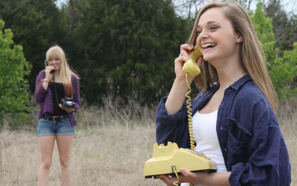 communication téléphonique