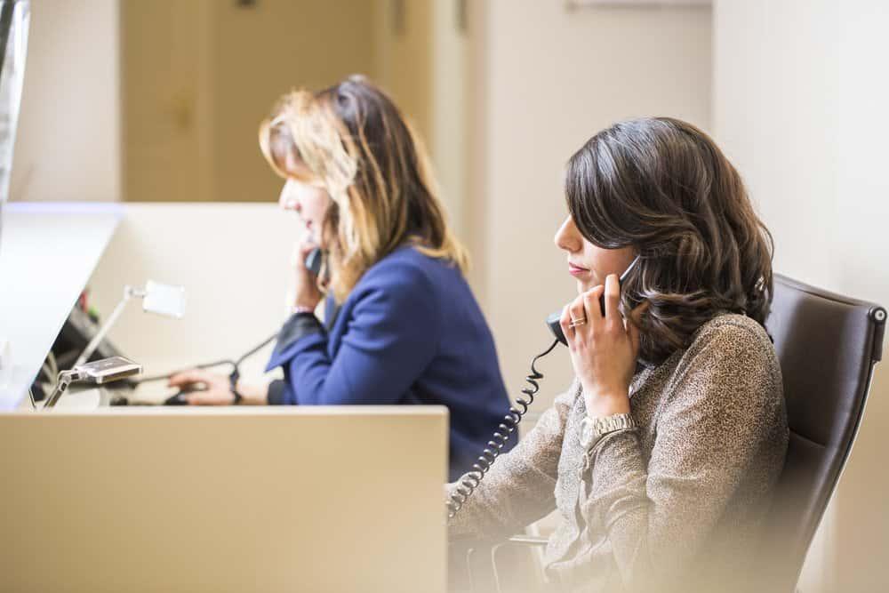 accueil téléphonique en entreprise